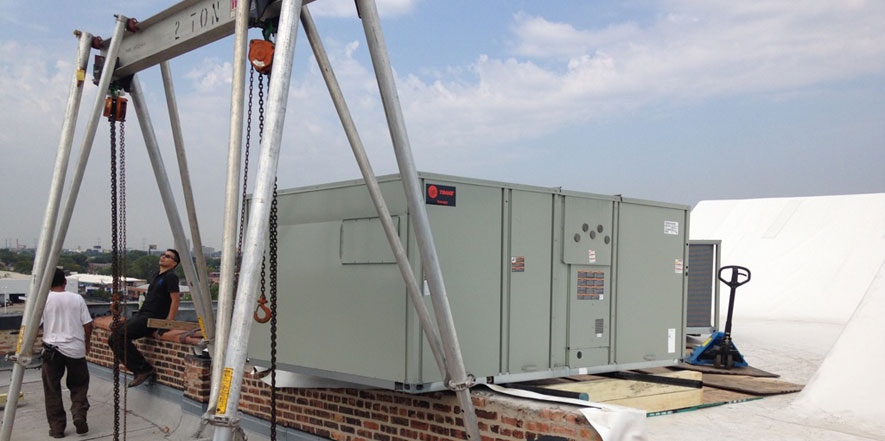 Rooftop HVAC Installation Repair Chicago, IL