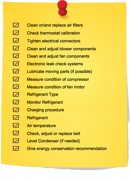cooling system checklist